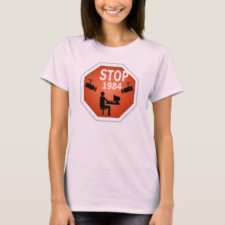 T-shirt Signe de l'arrêt 1984