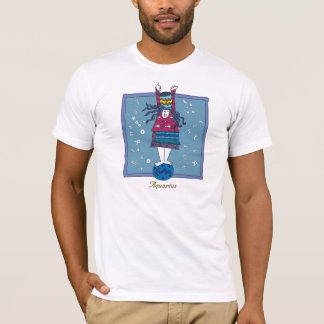 T-shirt Signe de zodiaque de Verseau
