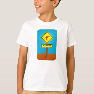 T-shirt Signe personnalisable de kangourou