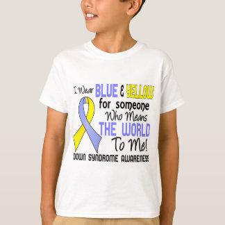 T-shirt Signifie le monde à moi 2 syndrome de Down