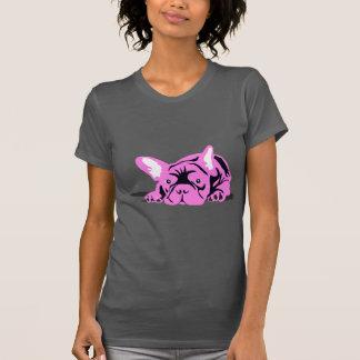 T-shirt Silhouette de bouledogue français