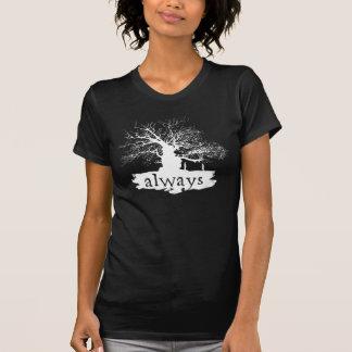 T-shirt Silhouette de citation du charme | de Harry Potter