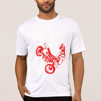 T-shirt Silhouette de moto