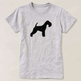 T-shirt Silhouette de région des lacs Terrier