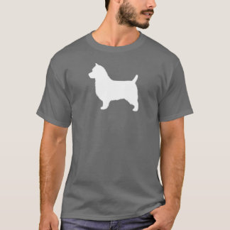 T-shirt Silhouette de Terrier australien