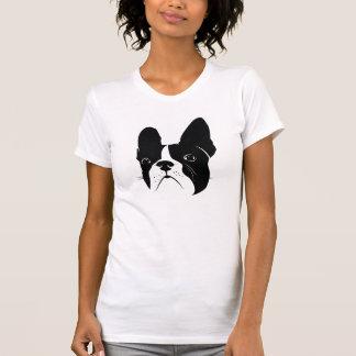 T-shirt Silhouette extraordinaire de bouledogue français