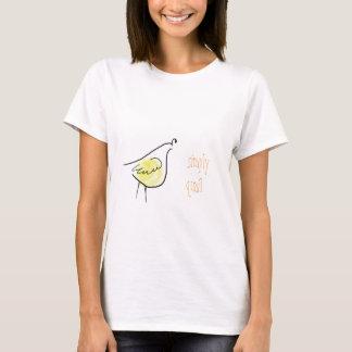 T-shirt Simplement habillement de cailles