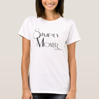 T-shirt Simplement pièce en t de Moyer avec le dos d'URL