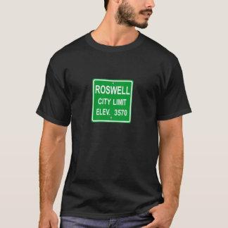 T-shirt Sinalização De Roswell