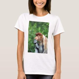T-shirt Singe de buse songeur