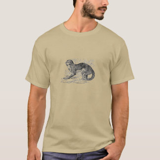 T-shirt Singe de nuit