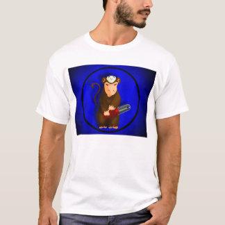 T-shirt Singe de tronçonneuse