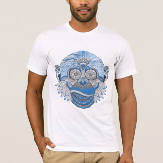T-shirt Singe psychédélique frais