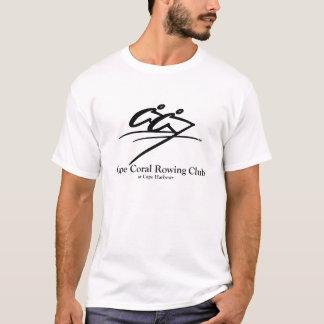 T-shirt Singulet de corail de Micro-Fibre d'aviron de cap