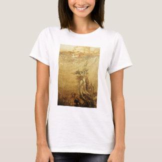 T-shirt Sirènes pêchant pour des perles