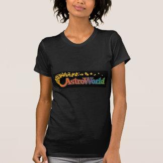 T-shirt Six parcs d'attractions d'Astroworld de drapeaux