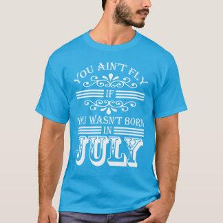 T-shirt SKILLHAUSE - MOUCHE en juillet v2 (LETTRE BLANCHE)