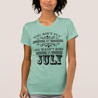 T-shirt SKILLHAUSE - MOUCHE en juillet v2 (LETTRE NOIRE)