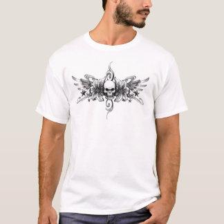 T-shirt skull tattoo