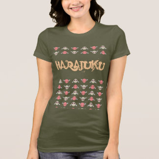 "T-shirt Skullie s'envole ""Harajuku """