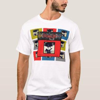 T-shirt Slackers, rois et voyous Cubics Rube
