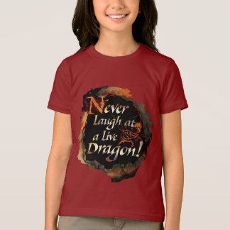 T-shirt SMAUG™ - Ne riez jamais le graphique de logo