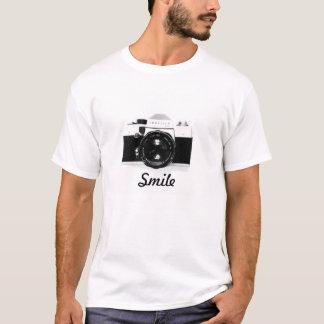 T-shirt Smile caméra