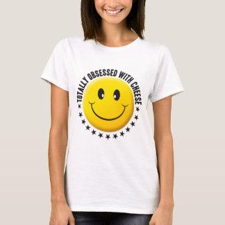 T-shirt Smiley hanté de fromage