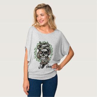 T-shirt Snake Flower