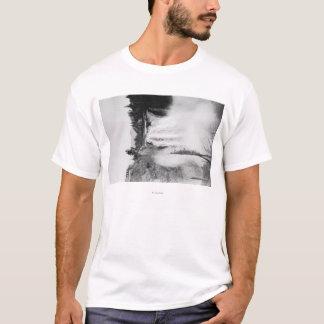 T-shirt Snoqualmie, WA - automnes et photographie de loge