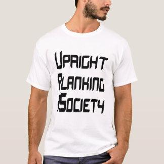 T-shirt Société droite de Planking