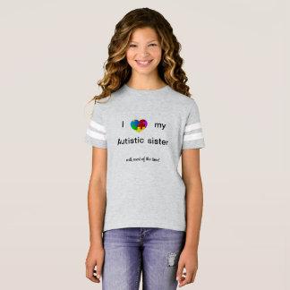 T-shirt Soeur autiste