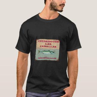 T-shirt Soins avec les Maquereaux : Chemisette Vintage