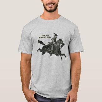 T-shirt Soldat de cavalerie de confédéré de guerre civile