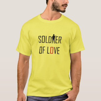 T-shirt Soldat de l'amour