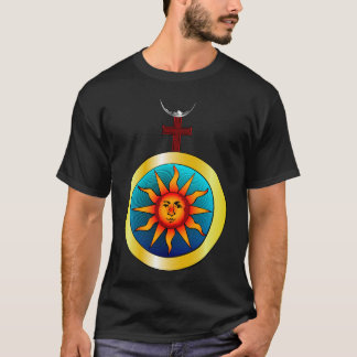 T-shirt Soleil et du Lune