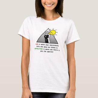 T-shirt Solidarité augmentée de poing contre la tyrannie