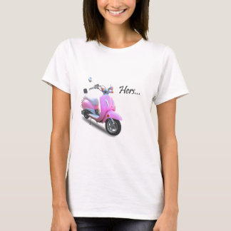 T-shirt Son scooter