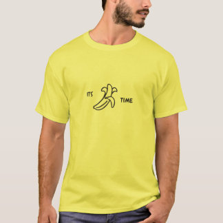 T-shirt son temps de banane