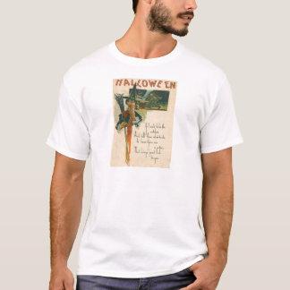 T-shirt Sorcellerie de nuit de balai de chaudron de
