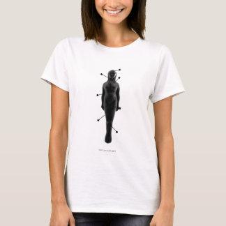T-shirt Sorcellerie : Femelle de poupée de poupée de Pin