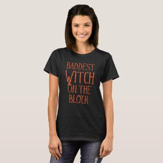 T-shirt Sorcière de Baddest sur le bloc Halloween