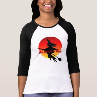 T-shirt Sorcière sur la sorcellerie drôle du manche à