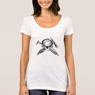 T-shirt Soudeuse de crâne