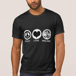 T-shirt Soudure d'amour de paix
