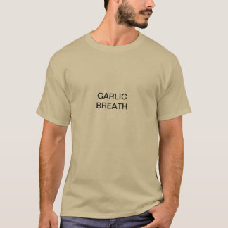 T-shirt souffle d'ail