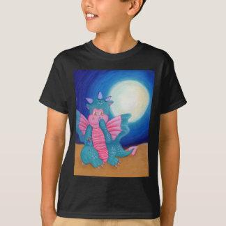 T-shirt Soufflent le dragon magique