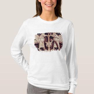 T-shirt Soulagement dépeignant deux griffons, d'Arslan