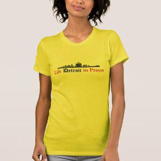 T-shirt Soulevez Detroit dans la prière