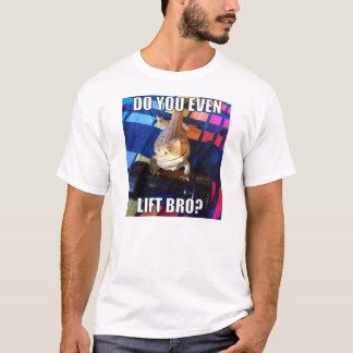 T-shirt Soulevez-vous même Bro ?